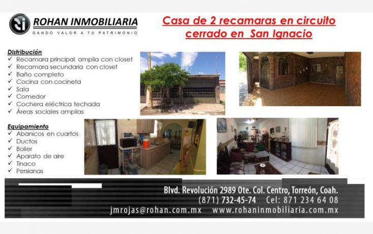 Foto de casa en venta en via lactea 295, aviación san ignacio segunda etapa, torreón, coahuila de zaragoza, 1381583 no 01