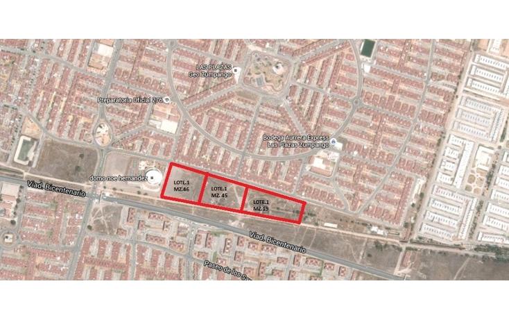Foto de terreno habitacional en venta en viad. bicentenario , las plazas, zumpango, méxico, 1349413 No. 02