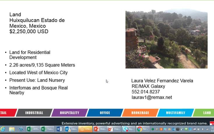 Foto de terreno habitacional en venta en vicente guerrero 0, santiago yancuitlalpan, huixquilucan, méxico, 2651248 No. 17
