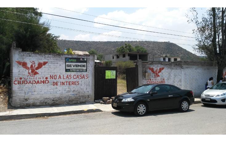 Foto de terreno habitacional en venta en vicente guerrero , adolfo lópez mateos, tequixquiac, méxico, 1940705 No. 01