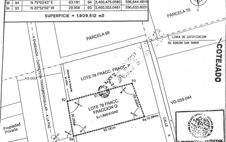 Foto de terreno comercial en venta en  , vicente guerrero, ensenada, baja california, 450738 No. 03
