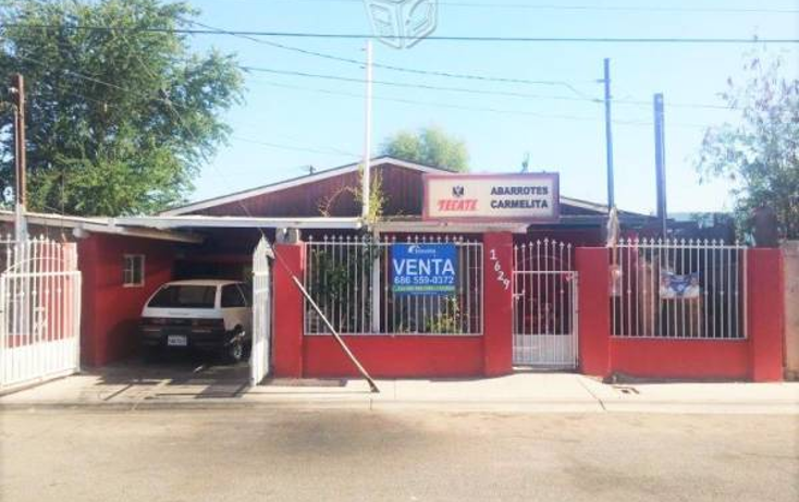 Foto de casa en venta en  , vicente guerrero, mexicali, baja california, 2038372 No. 01