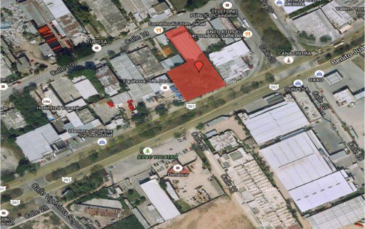Foto de terreno industrial en venta en, vicente solis, mérida, yucatán, 1950152 no 01