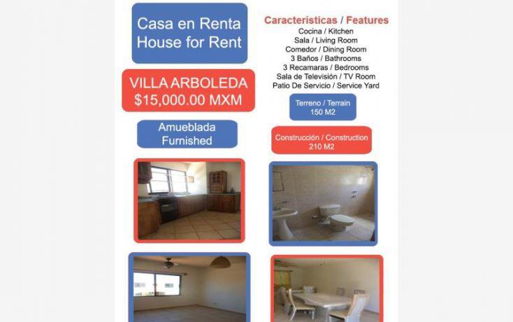 Foto de casa en renta en villa arboleda 1, el campirano, irapuato, guanajuato, 1823812 no 01