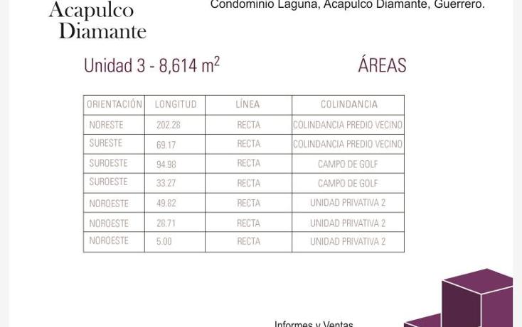 Foto de terreno habitacional en venta en villa castelli n/a, playa diamante, acapulco de juárez, guerrero, 629474 No. 07