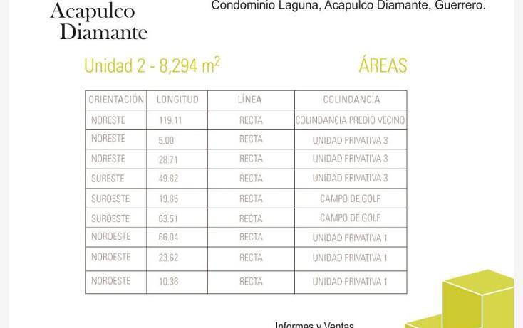 Foto de terreno habitacional en venta en villa castelli n/a, playa diamante, acapulco de juárez, guerrero, 629474 No. 12
