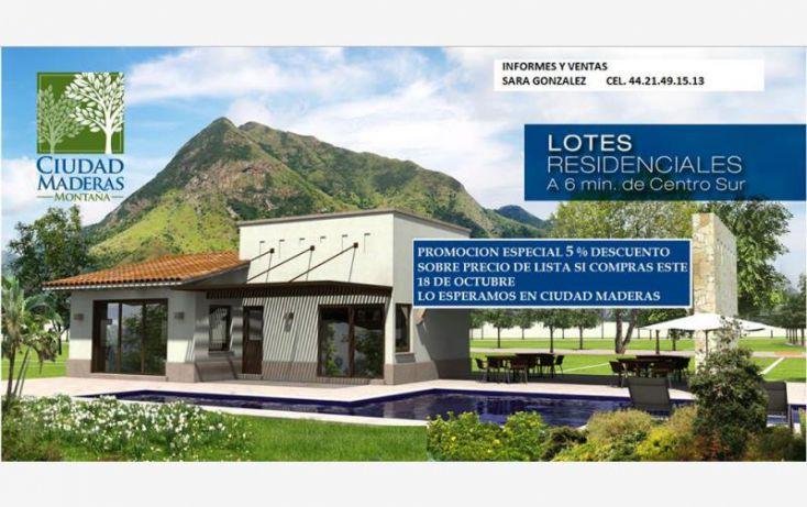 Foto de terreno habitacional en venta en villa conin 001, san isidro miranda, el marqués, querétaro, 1393357 no 01