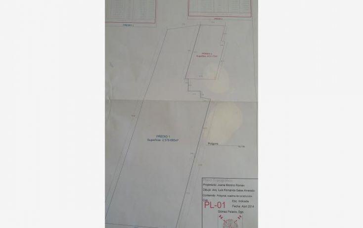 Foto de terreno habitacional en venta en villa de las flores 1, villa de las flores, lerdo, durango, 1623056 no 06