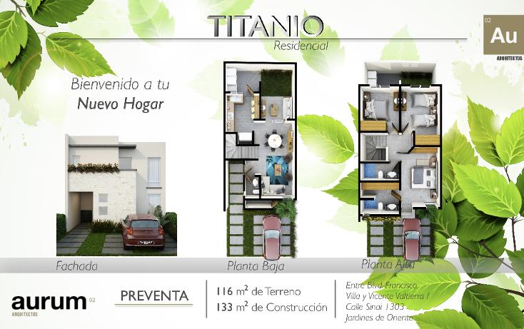 Foto de casa en venta en  , villa de las flores, león, guanajuato, 1198749 No. 01