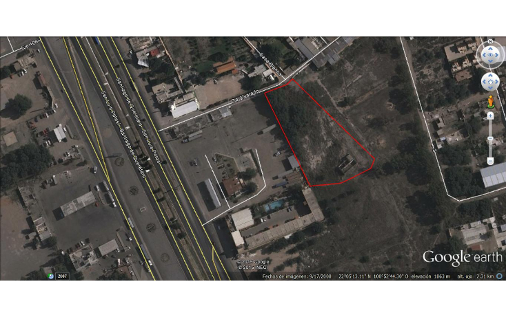 Foto de terreno comercial en venta en  , villa de pozos, san luis potosí, san luis potosí, 1808696 No. 02