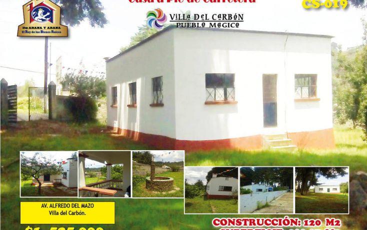 Foto de casa en venta en, villa del carbón, villa del carbón, estado de méxico, 1987261 no 01