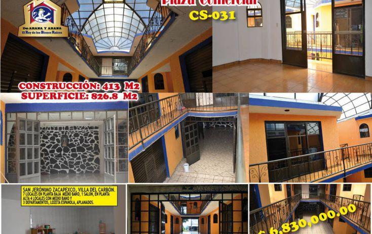 Foto de local en venta en, villa del carbón, villa del carbón, estado de méxico, 2012012 no 01