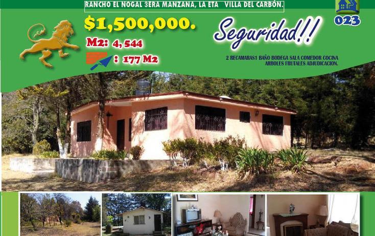 Foto de casa en venta en  , villa del carbón, villa del carbón, méxico, 1974701 No. 01