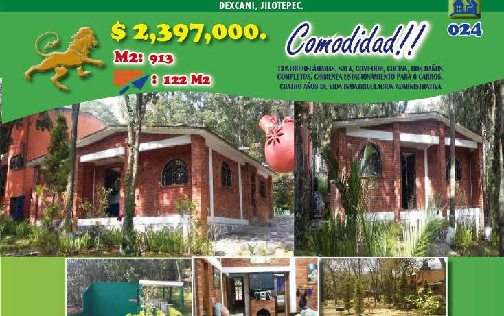 Foto de casa en venta en  , villa del carb?n, villa del carb?n, m?xico, 1974727 No. 01