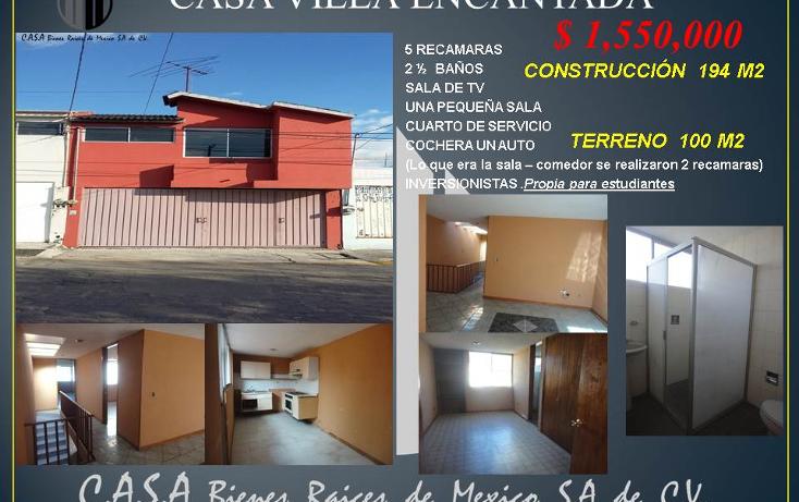 Foto de casa en venta en  , villa encantada, puebla, puebla, 1785460 No. 01
