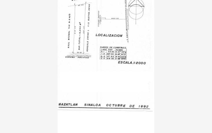 Foto de terreno comercial en venta en  , villa florida, mazatl?n, sinaloa, 1461193 No. 02