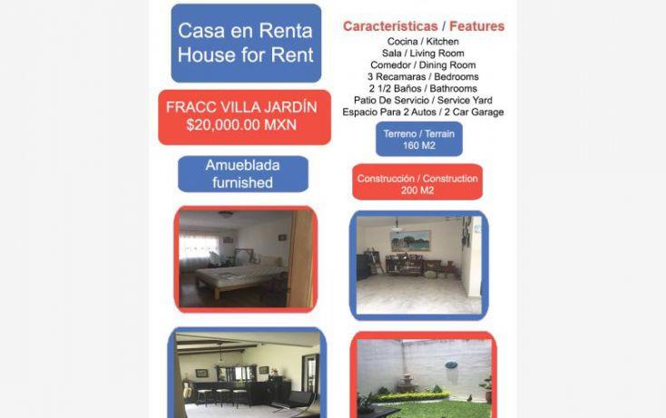 Foto de casa en renta en villa jardín 1, el campirano, irapuato, guanajuato, 1994336 no 01