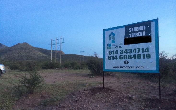 Foto de terreno habitacional en venta en  , villa juárez (rancheria juárez), chihuahua, chihuahua, 1474189 No. 01