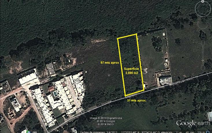 Foto de terreno habitacional en venta en  , villa parrilla, centro, tabasco, 1278873 No. 01