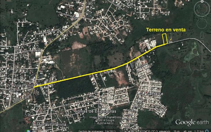 Foto de terreno habitacional en venta en  , villa parrilla, centro, tabasco, 1278873 No. 02