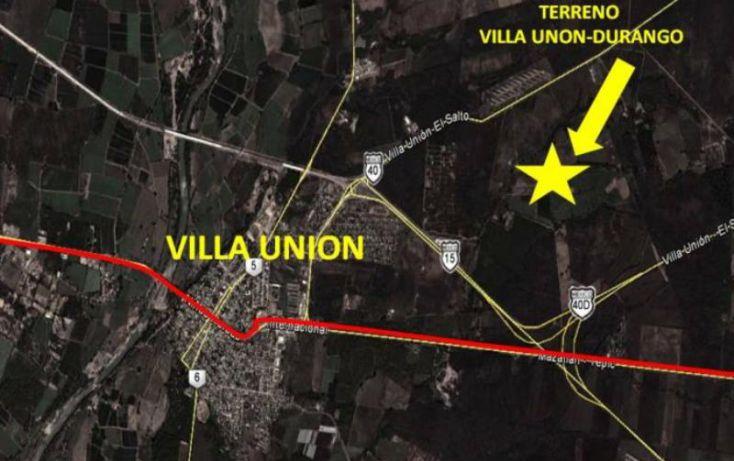 Foto de terreno comercial en venta en villa unión carretera durango,, villa unión centro, mazatlán, sinaloa, 1585140 no 03