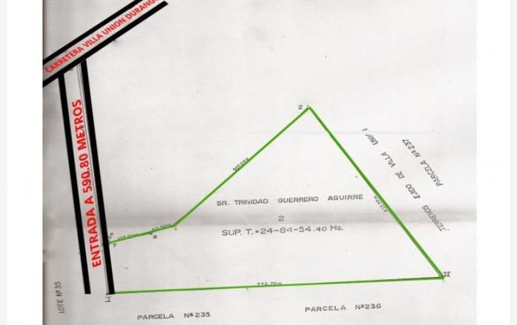 Foto de terreno habitacional en venta en villa union carretera durango , villa unión centro, mazatlán, sinaloa, 605934 No. 06