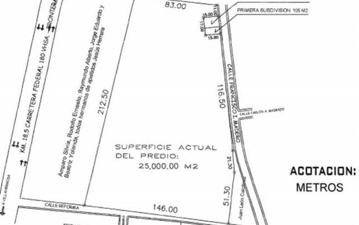 Foto de terreno comercial en venta en  , villahermosa centro, centro, tabasco, 1298303 No. 03