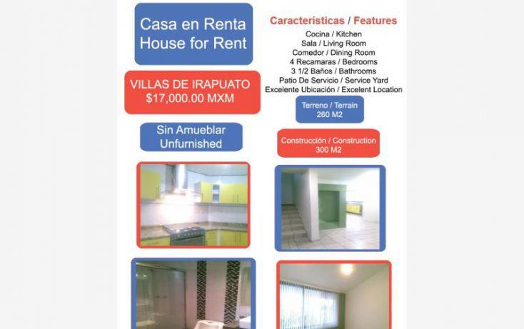 Foto de casa en renta en villas de irapuato 1, villas de irapuato, irapuato, guanajuato, 1823902 no 01