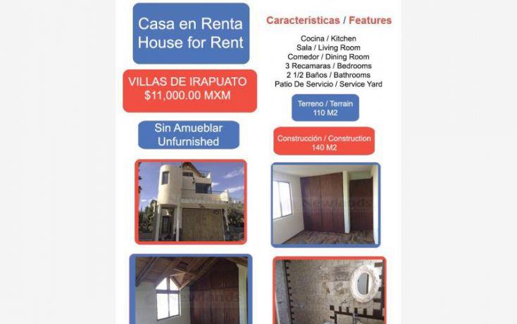 Foto de casa en renta en villas de irapuato 1, villas de irapuato, irapuato, guanajuato, 1824292 no 01