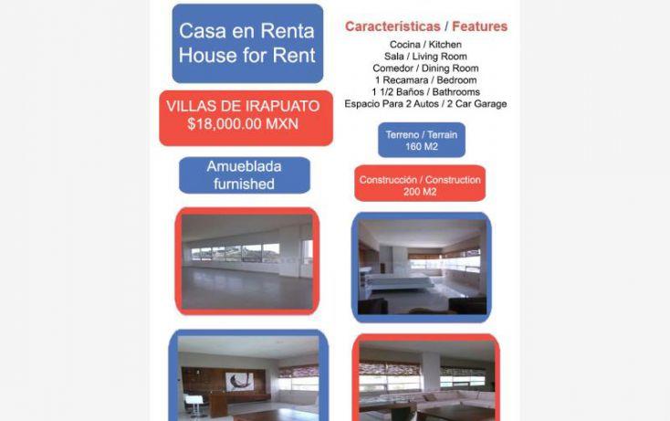 Foto de casa en renta en villas de irapuato 1, villas de irapuato, irapuato, guanajuato, 1994272 no 01