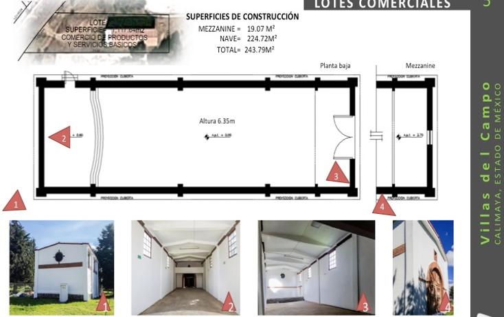 Foto de terreno comercial en venta en  , villas del campo, calimaya, méxico, 1555682 No. 04