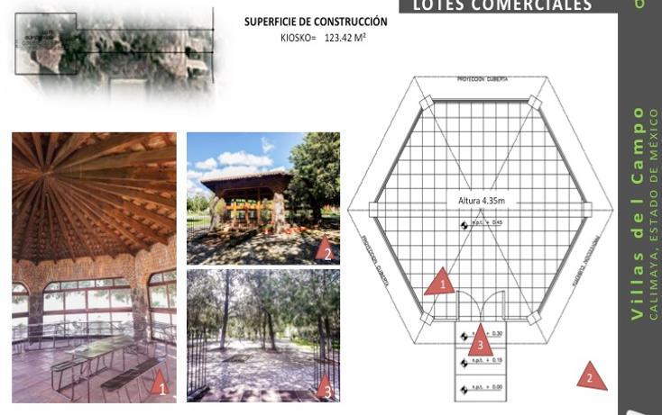 Foto de terreno comercial en venta en  , villas del campo, calimaya, méxico, 1555682 No. 06