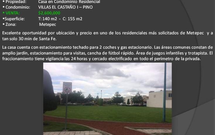 Foto de casa en venta en villas del castaño i 1, el castaño, metepec, méxico, 2781364 No. 02
