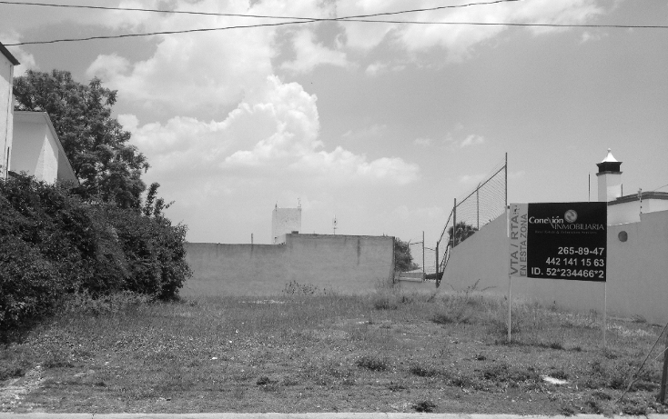 Foto de terreno habitacional en venta en  , villas del mesón, querétaro, querétaro, 1266037 No. 01