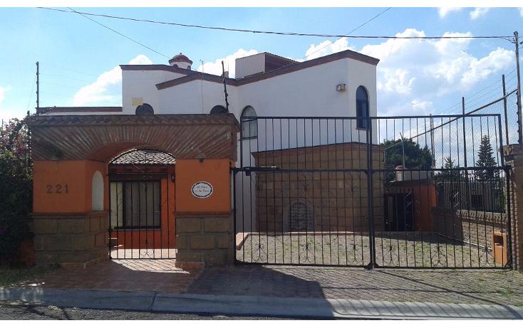 Foto de casa en renta en  , villas del mesón, querétaro, querétaro, 1492633 No. 01