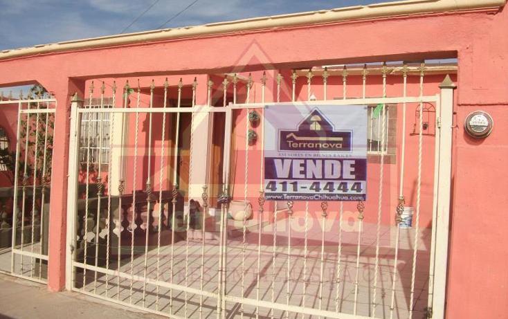 Foto de casa en venta en  , villas del rey v, chihuahua, chihuahua, 894483 No. 01
