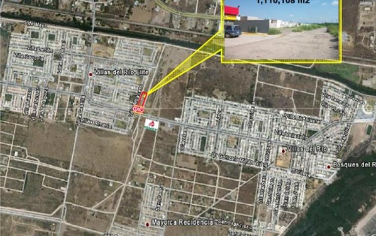 Foto de terreno comercial en venta en  , villas del rio, culiacán, sinaloa, 1066809 No. 01