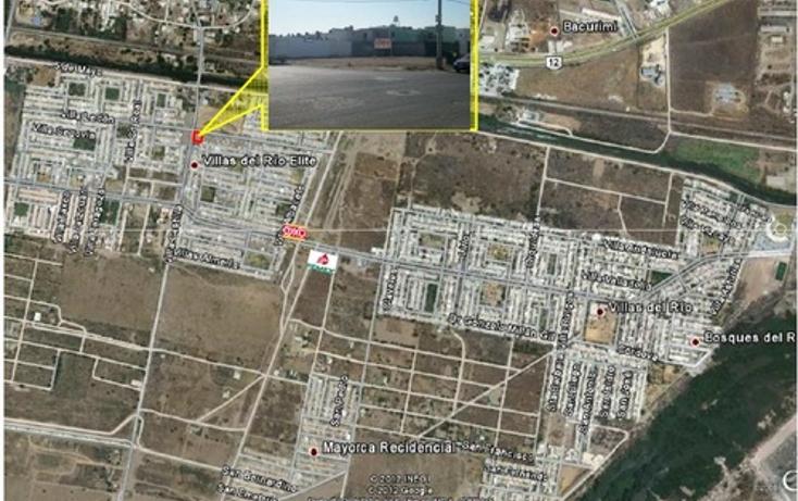Foto de terreno comercial en venta en  , villas del rio elite, culiacán, sinaloa, 1066833 No. 01