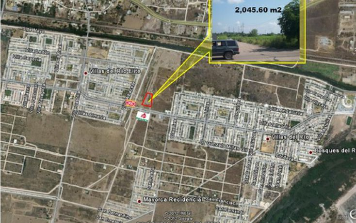 Foto de terreno comercial en venta en, villas del rio elite, culiacán, sinaloa, 1066847 no 01