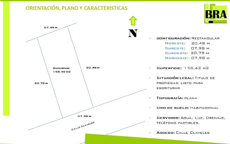 Foto de terreno habitacional en venta en  , villas del salitre, tula de allende, hidalgo, 1466713 No. 06