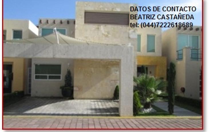 Foto de casa en venta en  , villas del sol, metepec, m?xico, 1135309 No. 01