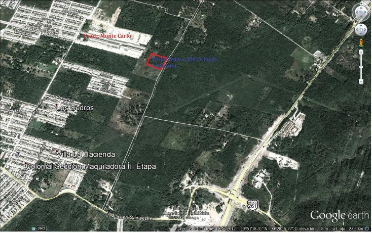 Foto de terreno habitacional en venta en  , villas la hacienda, campeche, campeche, 1053089 No. 01