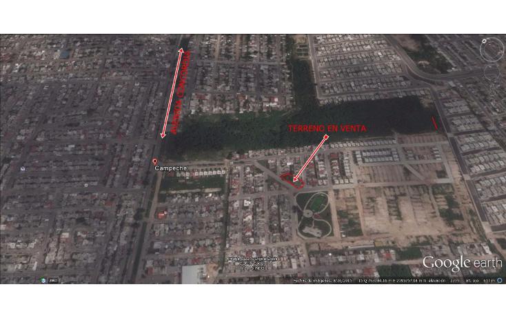 Foto de terreno habitacional en venta en  , villas la hacienda, campeche, campeche, 1553120 No. 02