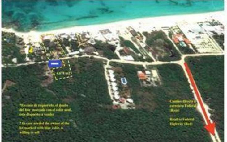 Foto de terreno habitacional en venta en  , villas maya, solidaridad, quintana roo, 1434875 No. 03