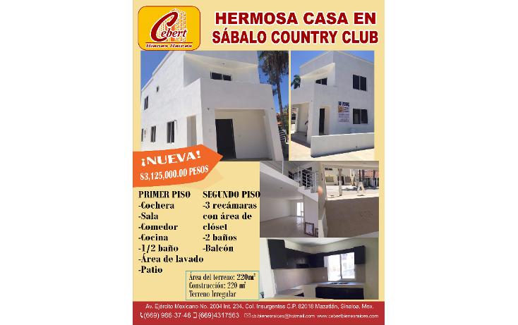 Foto de casa en venta en  , villas playa sur, mazatlán, sinaloa, 1289733 No. 14