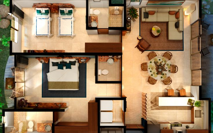 Foto de departamento en venta en, villas tulum, tulum, quintana roo, 1526267 no 13
