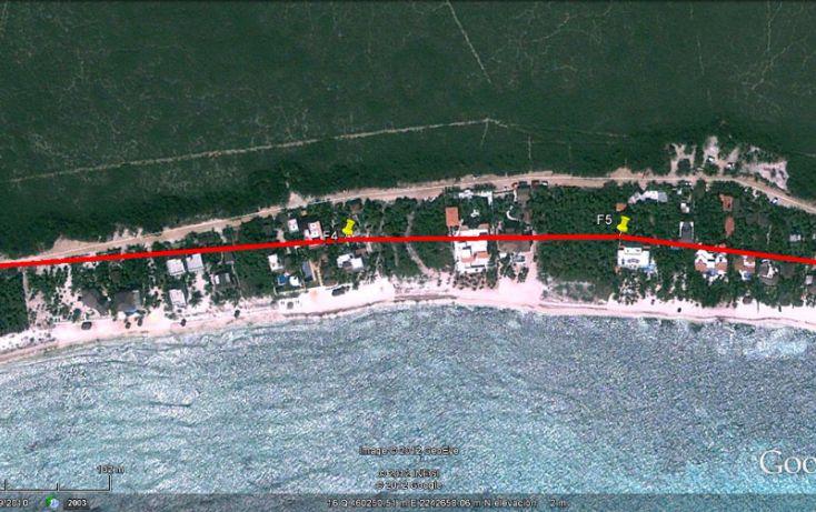 Foto de terreno habitacional en venta en, villas tulum, tulum, quintana roo, 1624522 no 02