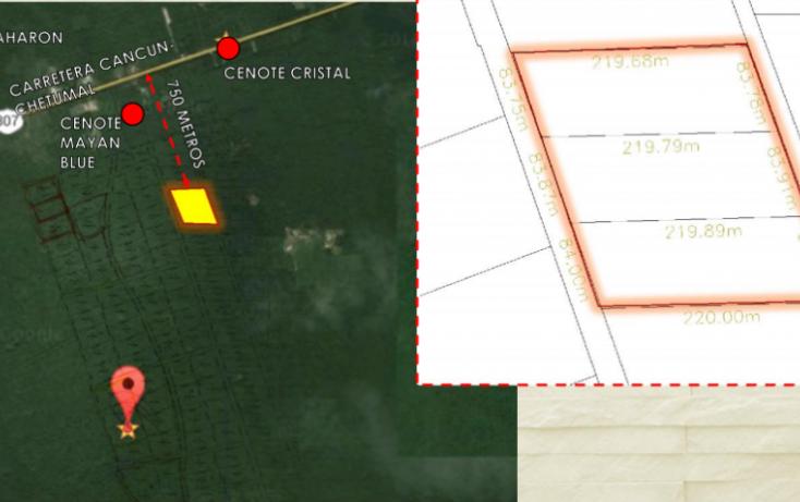 Foto de terreno habitacional en venta en, villas tulum, tulum, quintana roo, 1947758 no 01