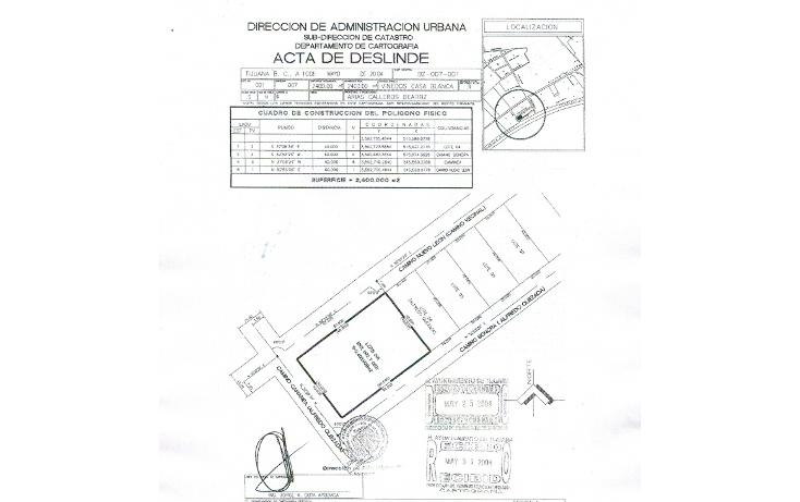 Foto de terreno habitacional en venta en  , viñedos casa blanca, tijuana, baja california, 1795110 No. 07
