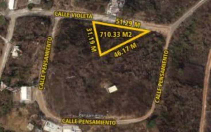 Foto de terreno habitacional en venta en violeta 6, primavera, mazatlán, sinaloa, 1372209 no 01